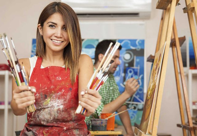 Kunsttherapie hilft bei Depression