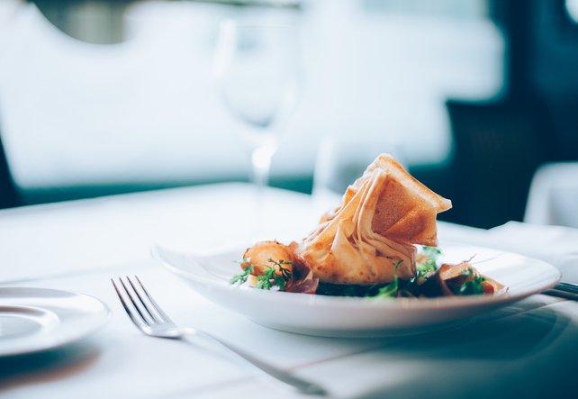 Gesundes Gericht, bei dem der glykämische Index stimmt