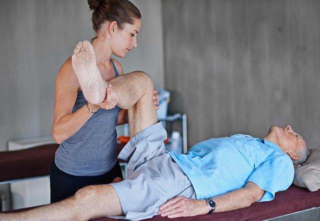 Physiotherapie hilft bei Verletzungen