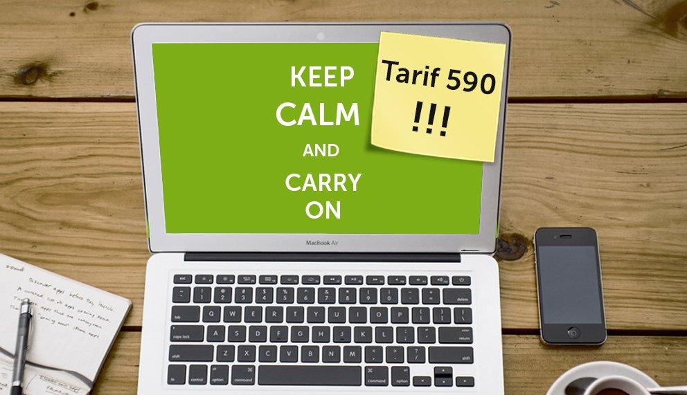Tarif 590 – alles, was Sie jetzt darüber wissen müssen