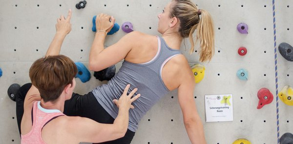Therapeutisches Klettern: Körper und Psyche motiviert stärken