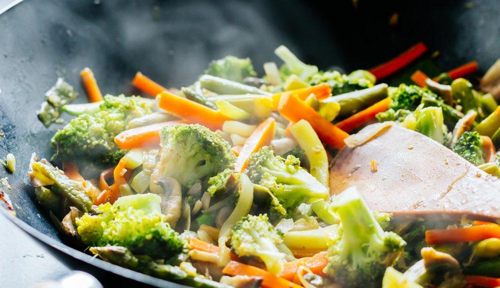 Buntes Gemüse im Alltag - denn du bist was du isst.