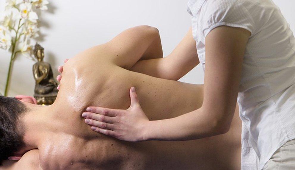 klassische massage bild
