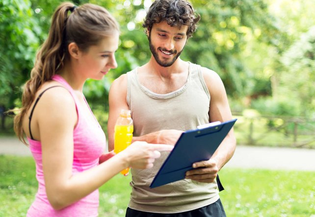 Personaltraining mit Personal Trainer